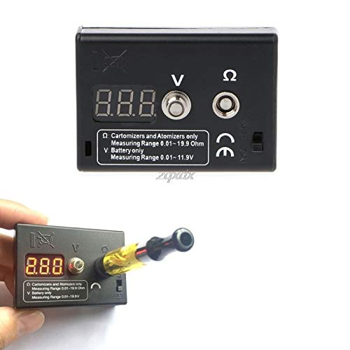 FENGYI Resistance Tester OHM Meter for RDA RBA Vape Tools Voltage Tester for Battery