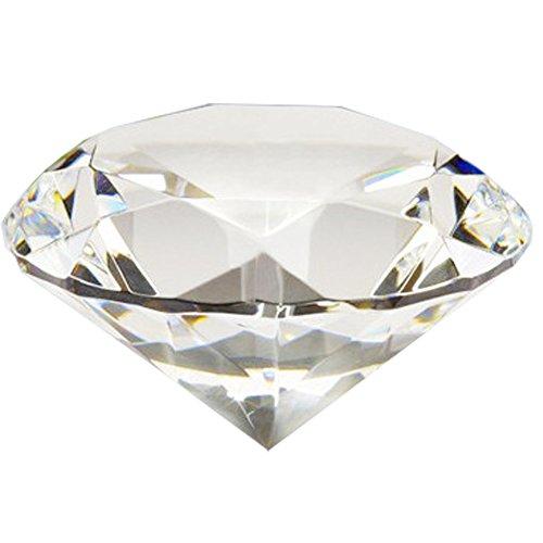 knowing 40mm Kristall Glas Diamant,Kristallglas Deko,Für Hochzeitsgeschenke Home Decoration