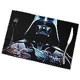 jhgfd7523 Star Wars Set di 6 tovagliette antiscivolo resistenti al calore, lavabili per cucina, sala da pranzo, decorazione per la casa, 30 x 40 cm