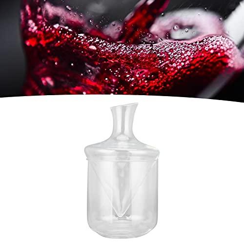 Cubo de hielo, decantador fácil de usar para champán para bar para amantes del vino para vino tinto