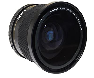 Polaroid Studio Series .42X HD Fisheye Lens 58mm from Polaroid