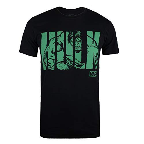 Marvel Heren T - Shirt HULK TEXT