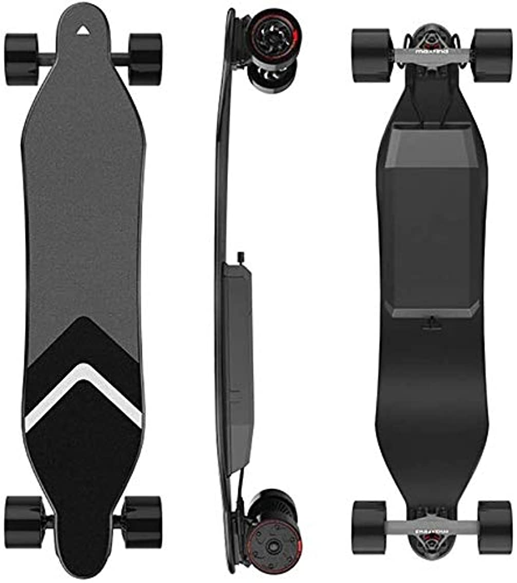 習熟度体現する手綱電動スケートボードの最大範囲キッズガールズボーイズ中学生大人の若者のためのリモートコントローラーE-ロングボードで23 KM IP65防水グラスファイバーデッキ