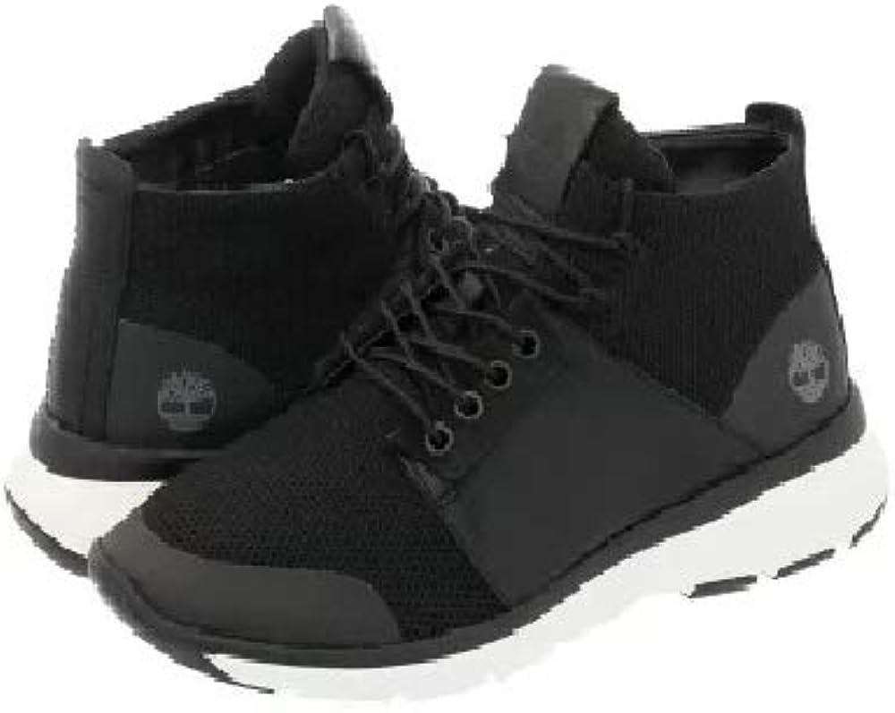 Altimeter Mixed-Media Sneaker Boots