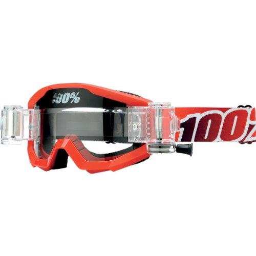 Preisvergleich Produktbild Inconnu 100% Strata Maske-MTB Unisex Erwachsene,  rot