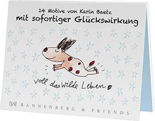 Postkartenbuch Motive mit sofortiger Glückswirkung, Postkarte Ansichtskarte