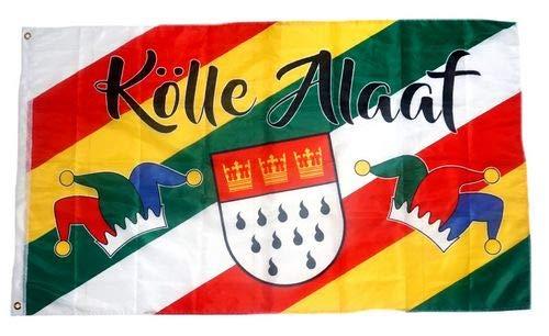 Fahne/Flagge Kölle Alaaf Karneval Köln Fasching 90 x 150 cm