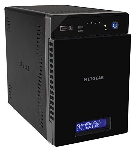 Netgear RN214D41-100NES ReadyNAS 210er-Reihe Netzwerkspeicher (NAS), 2GB schwarz