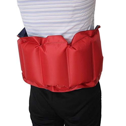 JK - Cintura galleggiante per nuoto con cintura gonfiabile per addestramento, attrezzatura galleggiante per nuotare e principianti, galleggiante, per adulti e bambini