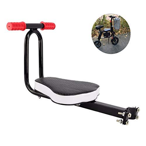 GHzzY Asiento Seguro Desmontable para Bicicleta Infantil - Asientos Delanteros para niños en Bicicleta - Asiento Protector para Bicicleta Deportiva al Aire Libre