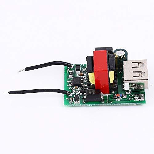 Buck Converter, DC Step Down módulo aislado fuente de alimentación reductor de voltaje 12V 24V 36V 48V 72V a 5V 1A placa de módulo transformador con puerto USB