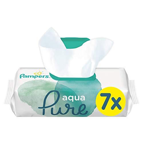 Pampers Aqua Pure Feuchttücher, 7Packungen (7 x 48 Stück)