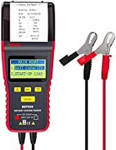 ANCEL BST500 12V/24V 100-2000 CCA Automotive Battery Load Tester, Car Cranking and Charging System Analyzer Scan Tool with Printer for Heavy Duty Trucks, Cars, Motorcycles and More (Black and Red)