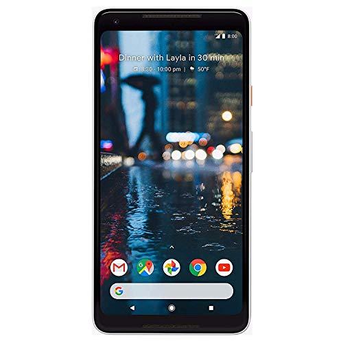 Google Pixel 2 XL Verizon (Black & White, 64GB) (Renewed)