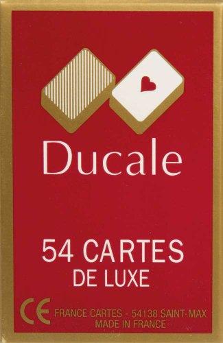 Ducale, 54 cartas de juego,surtido: colores aleatorios