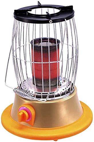 Calentadores portátiles para Exteriores, Mini calefactores para Exteriores Ajustables al Calor de Acero Inoxidable para Acampar en Fiestas (Color: Gas licuado)
