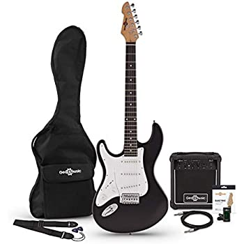 Guitarra Electrica LA Zurda + Paquete de Amplificador de 10 W ...