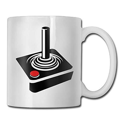 KIMIOE Tazas Retro Atari Style Games Console Joy Stick Controller 3D Custom Painting Travel Mug Stainless Steel Simple Sense Coffee Mug,Personalized Gift