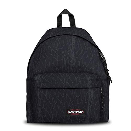 Eastpak Padded Pak'R Zaino, 24 L, Nero (Sea Net)