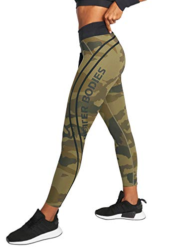 Better Bodies Camo High Tights Fitness Leggings mit hohem Bund (S)
