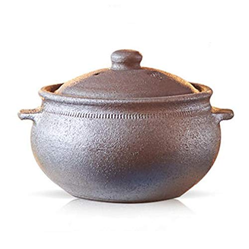 Clay Pots For Cooking Dutch Oven Terracotta Pots For Cooking-Fast Heating, Heat Storage And Energy Saving-4L