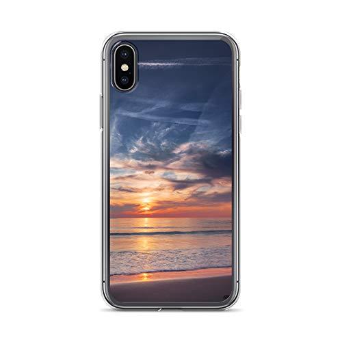 blitzversand Handyhülle NORDSEE WATT kompatibel für Huawei G8 Mini Horziont Wasser Norsee Amrum Schutz Hülle Case Bumper transparent rund um Schutz M9