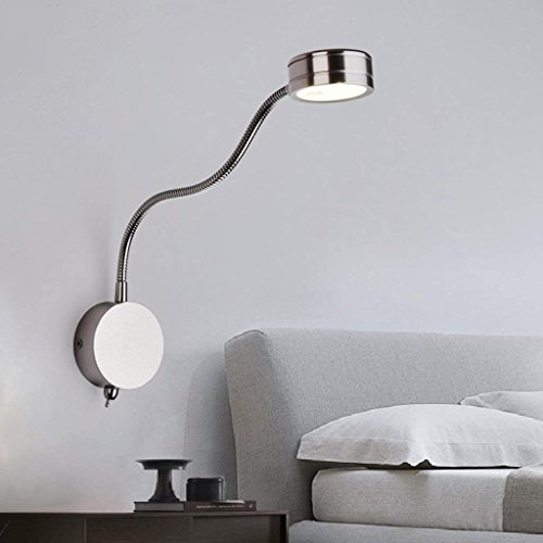 DSJ wandlamp LED lezen wandlamp slaapkamer studie lamp decoratie bureau wandlamp eenvoudige moderne creatieve persoonlijkheid wandlamp
