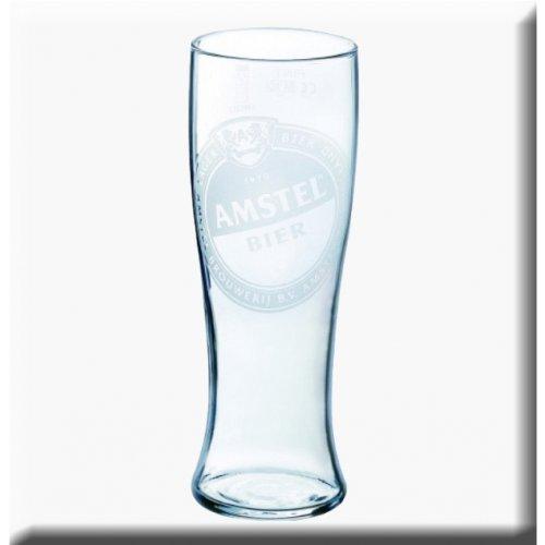 Vaso de cerveza Amstel 568 ml/20 oz (4 unidades)