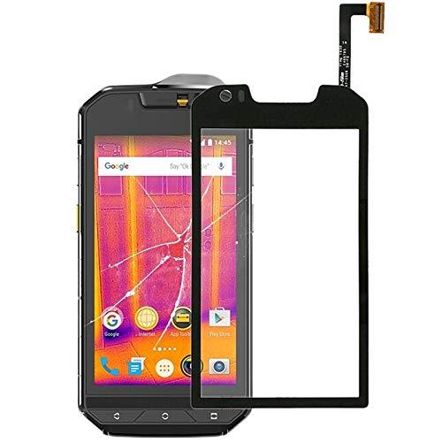 Tangyongjiao Piezas de Repuesto del teléfono Celular Panel táctil for Cat S60 4.7 Pulgadas Accesorio de Repuesto (Color : Black)