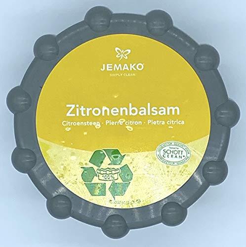 Jemako Zitronenbalsam für perfekte Reinigungsergebnisse auf Edelstahl und gegen Kalk, NEUE Verpackung, incl. DiWa Wäschenetz
