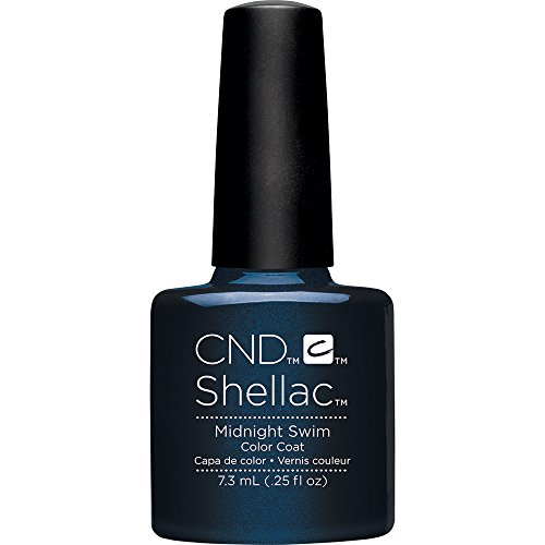 CND Shellac Midnight Swim, 1er Pack (1 x 7 ml)