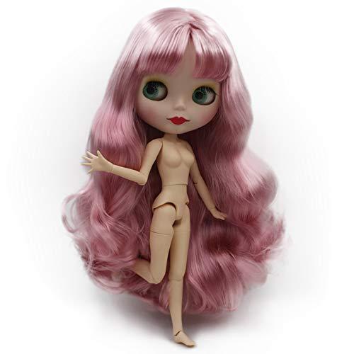 GSDJU bjd Puppe, Geburtstag, Hairdorables Puppe, begleitend, Blyth Puppe Nude, maßgeschneiderte Mattierte Gesicht Puppen können Make-up und Kleid selbst ändern, 1/6 Kugelgelenkpuppen 30 cm