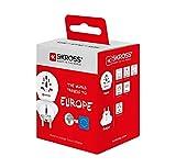 SKROSS Country Adapter World to Europe: Reiseadapter für Reisen in Länder, die den Schuko-Standard verwenden - 2