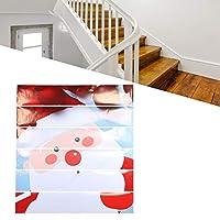 クリスマスの階段のステッカー階段の装飾のための階段のステッカーの壁のステッカークリスマスの装飾の家の装飾