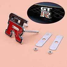 Activve GTR Grill Badge Emblem Skyline For 370Z R32 GTS R34 S14 350Z GT-R