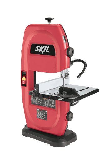 SKIL 3386-01 120-Volt 9-Inch Band Saw with Light , Red