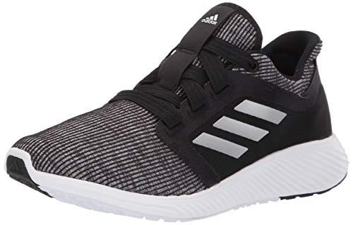 adidas Women's Edge Lux 3 Running Shoe, Black/Silver Metallic/Black, 7.5 M US