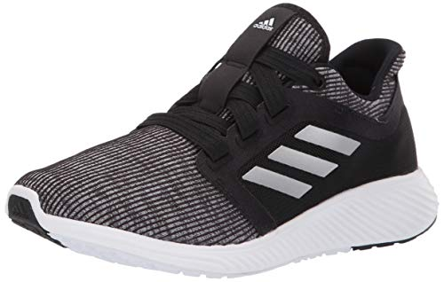 adidas Women's Edge Lux 3 Running Shoe, Black/Silver...