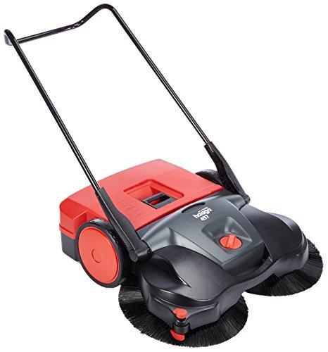 Haaga Handkehrmaschine 497 Profi (gute Reinigungsleistung für anspruchsvollen Einsatz, egal ob nass, trocken oder grober Schmutz, bis 2000m²) 497400