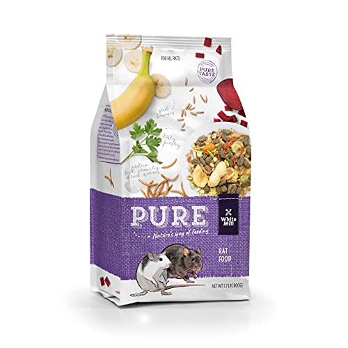 Witte Molen Pure Rat Seed Mixture Peanut & Banana Dry Rat Food (Dumbo Rats, Manx Rats, Dwarf Rats, Rex Rats) (Pure Rat Seed Mixture Peanut & Banana)