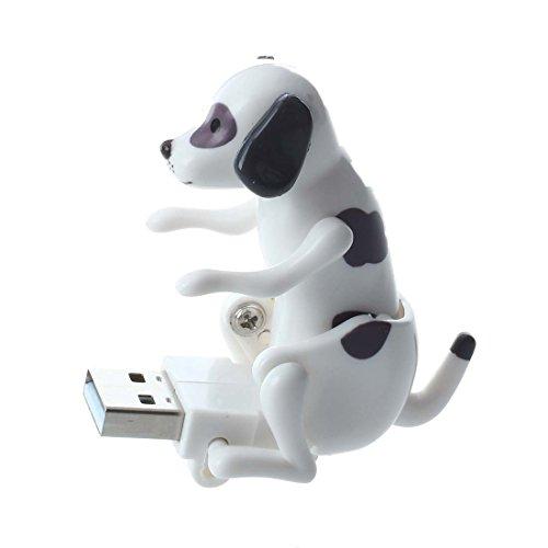 Humping dog USB - SODIAL(R)USB humping dog Noir + blanc