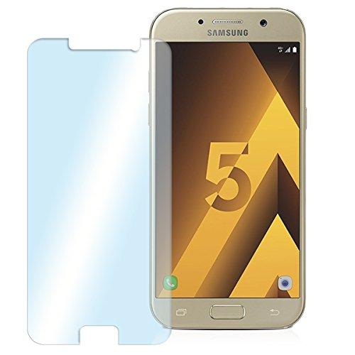NAUC Posten Glas Schutz Folie Panzerglas Bildschirmschutz Handy 2X Schutzglas Tempered, Handy Modelle für:Samsung Galaxy A5 2017