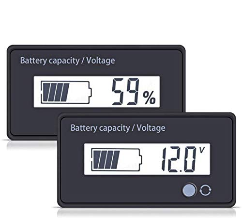 utipower Multifunctional 12V LCD Battery Capacity...