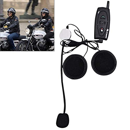 Review Of 500m Life Waterproof Wind-Resistant Bluetooth Multi Interphone Headsets for Motorcycle Hel...
