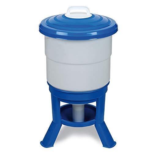 FINCA CASAREJO Bebedero sifón Premium de 50 L - Bebedero con Patas para gallinas - Bebedero de Gran Capacidad Fabricado en plástico