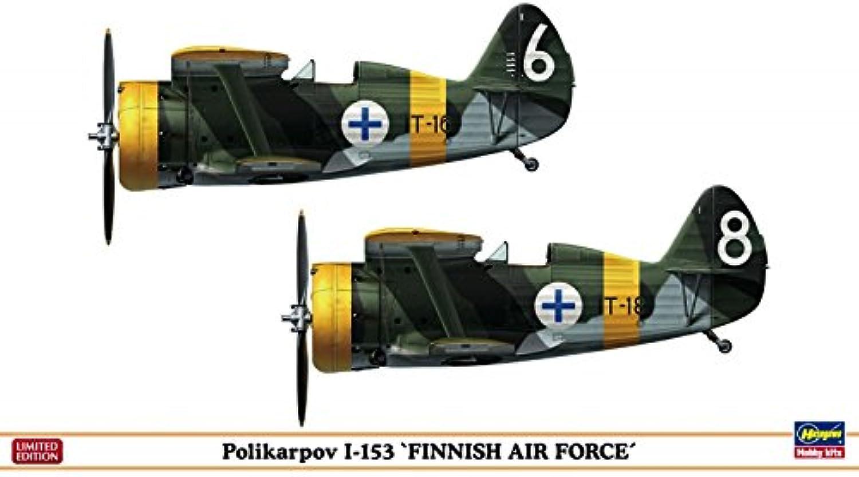 Hasegawa 1 72 Scale Polikarpov I153 Finnish Air Force Combo Toy