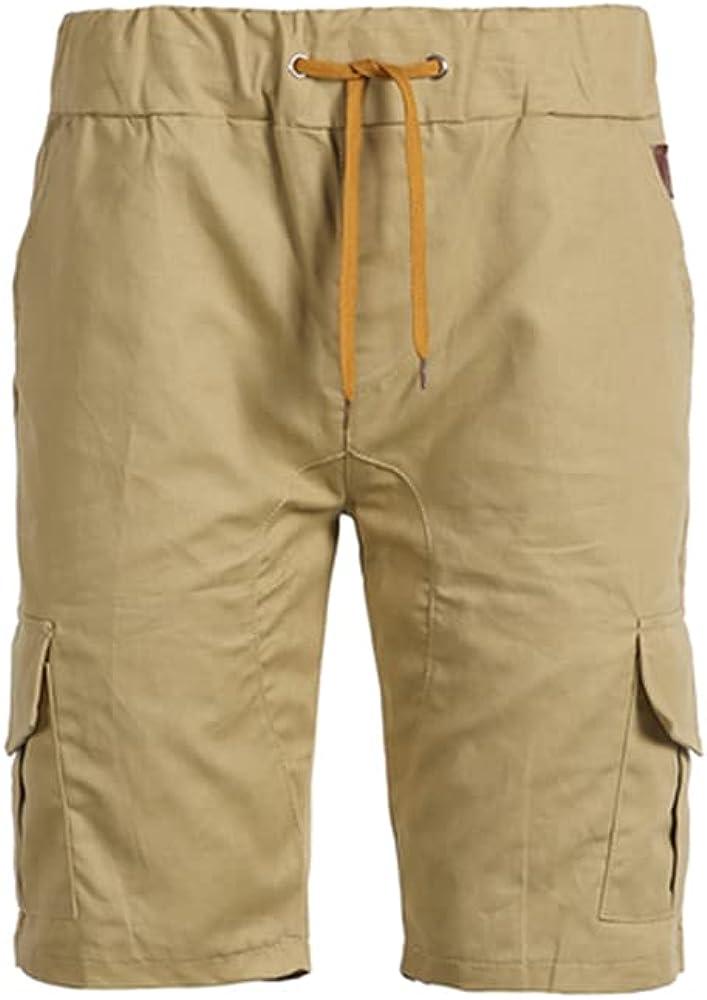 NP Shorts Men Summer Casual Multi-Pocket Men's Five-Minute Pants Men