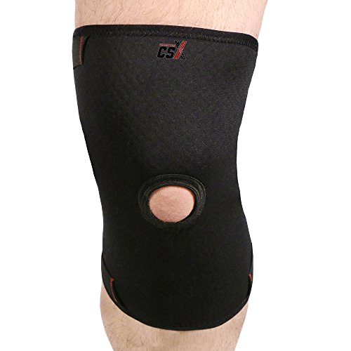 CSX Knee Sleeve, Patella Support, Anotomic Fit, Sport Performance, Small