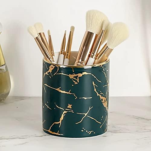 ZHYHAM Caja de almacenamiento cosmética del ornamento de la pluma del