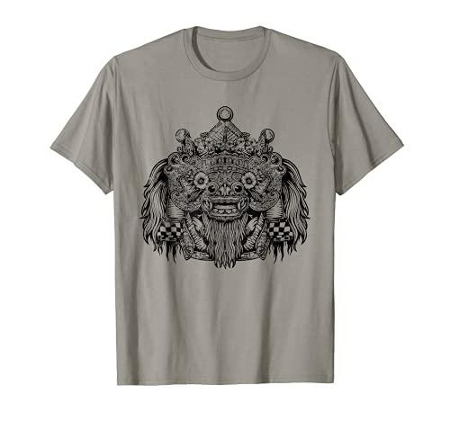 Barong balinese mythology white vintage T-Shirt